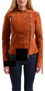 Just Cavalli Cognac Brown Jacket