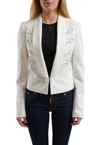 Just Cavalli White Blazer
