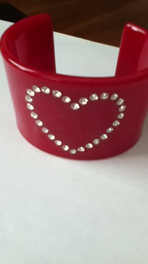 Other red plastic bangle