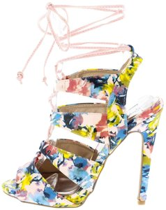 Other Pink Floral Pumps