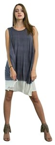 April Spirit short dress Multicolor Tie Dye Maxi Short Maxi Rayon on Tradesy