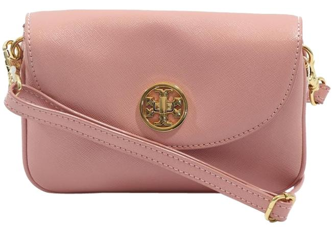 Item - Robinson Clutch Small Saffiano Pink Patent Leather Cross Body Bag