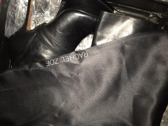 Rachel Zoe Leather Studded Black Boots