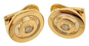 Chopard Chopard 18K Yellow Gold Happy Spirit Diamond Earring 845405
