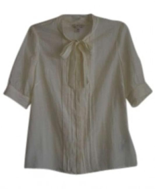 Preload https://img-static.tradesy.com/item/158093/jcrew-sheer-ivory-silk-business-professional-blouse-size-4-s-0-0-650-650.jpg