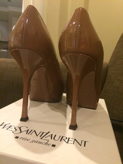 Saint Laurent Ysl Tribute Christian Louboutin Bianca Simple Classic Sandals Christian Louboutin Chanel Gucci Valentino Prada Nude Camel Pumps