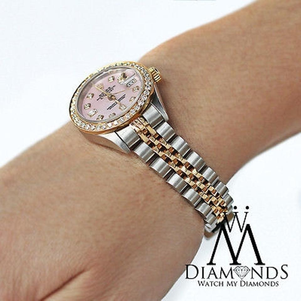 Rolex Datejust Diamond Bezel For Sale