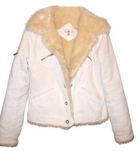 JLo Fur Winter Corduroy Coat