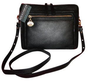 Brahmin Theo Pebble Leather Padded Shoulder Bag