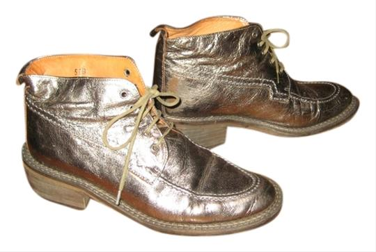 All Space Vintage 90's Size 5.5 Metallic Boots