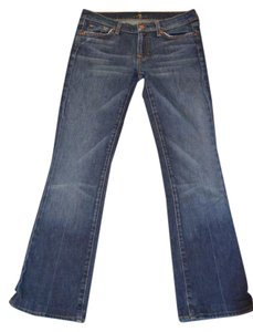 7 For All Mankind Ladies Size 29 Boot Cut Jeans-Medium Wash