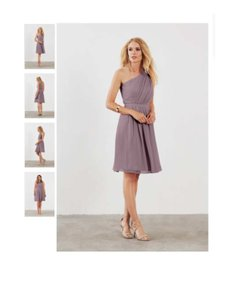 Alfred Angelo Wisteria Poly Chiffon Cocktail Bridesmaid Dress Wisteria Dress