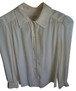 J.Crew Button Down Shirt Ivory