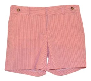Ann Taylor Size 2 Striped Brand New Dress Shorts Pink