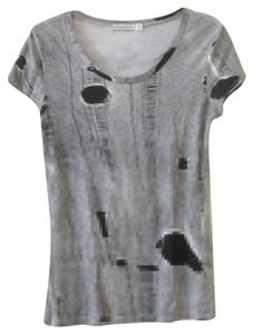 MINKPINK T Shirt Black and White