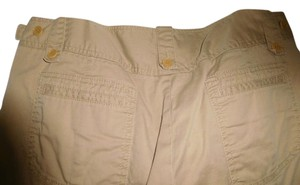 DKNY Ready To Wear Iron And Wear And Spandex Relaxed Pants BEIGE