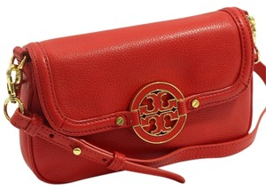 Tory Burch Amanda Leather Cross Body Bag