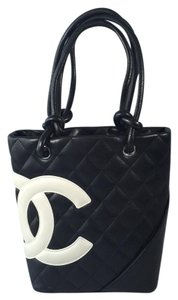 Chanel Tote in Black/ White