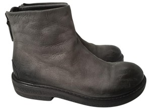 Marsèll Marsell Ombre Leather Gray and Black Boots