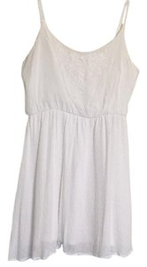 Rewind short dress White on Tradesy