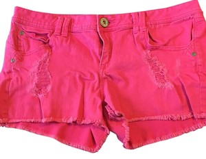 Candie's Cut Off Shorts Pink