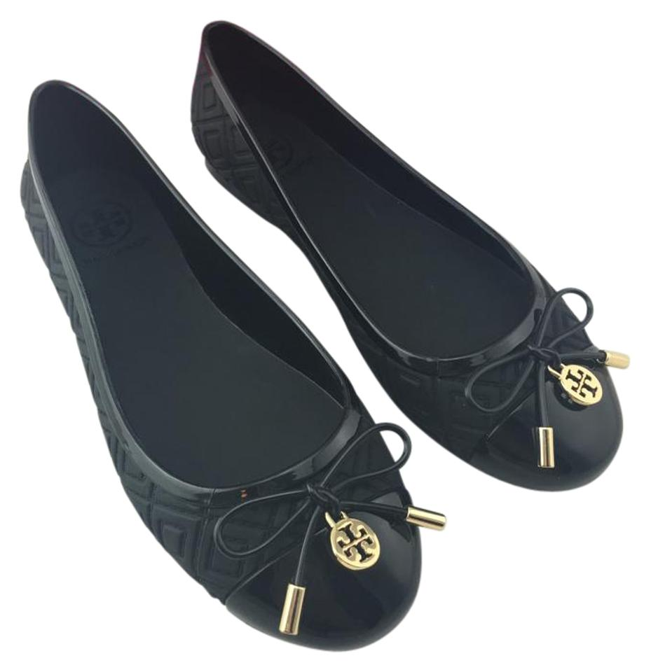 7c5e425dd Tory Burch Black Jelly Ballet Flats Size US 5 Regular (M