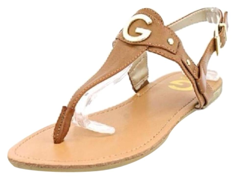 193cabdc031 Guess Conac G By Womens Lundon Flat Thong Sandals Size US 9 Regular ...