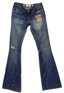 Juicy Couture Boot Cut Jeans-Distressed