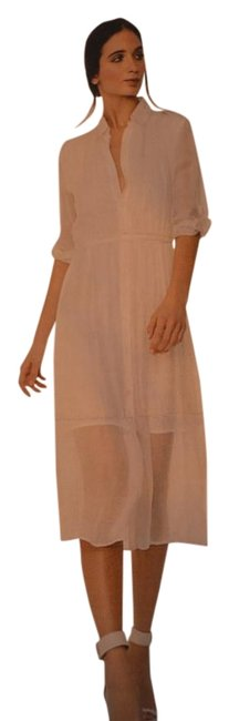 Item - Off White.... Maira Self Tie Belt Mid-length Night Out Dress Size 8 (M)
