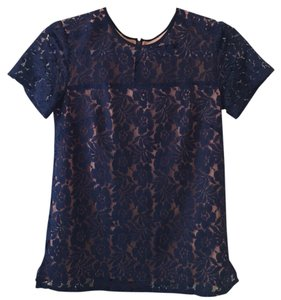French Connection Top Dark blue