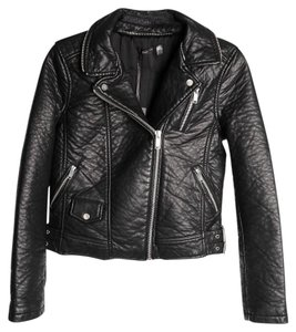 deux lux Faux-leather Leather Jacket