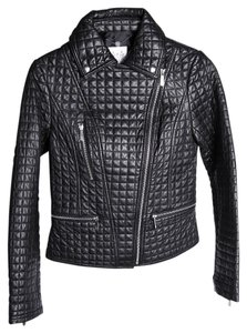 Dawn Levy Quilted Leather Jacket