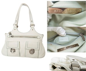 Marc Jacobs Satchel in Marc Jacobs White