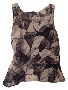 Sonia Speciale Top Black and grey print