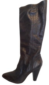 Frye Leather Tall Knee Brown Boots