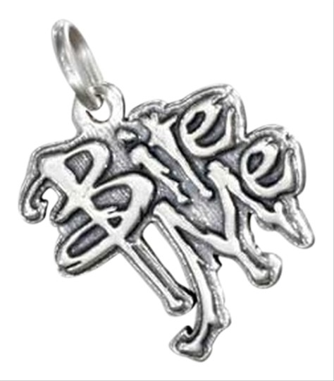 """Other Sterling Silver """"Bite Me"""" Charm"""
