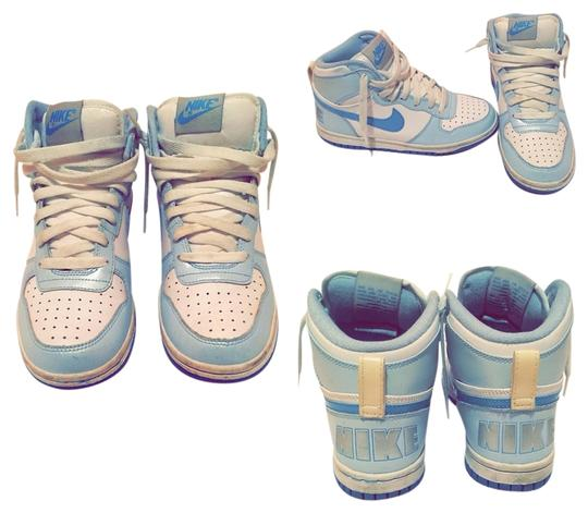 Nike Baby Blue And White Athletic