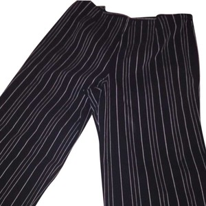 Chico's Flare Pants Black and White