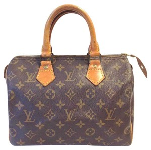 Louis Vuitton Satchel in Signature Coated Canvas