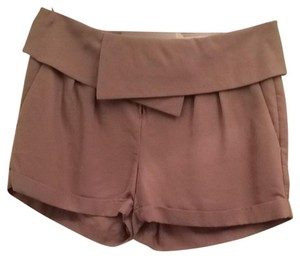 Banana Republic Cuff Fashion Dressy Shorts Taupe