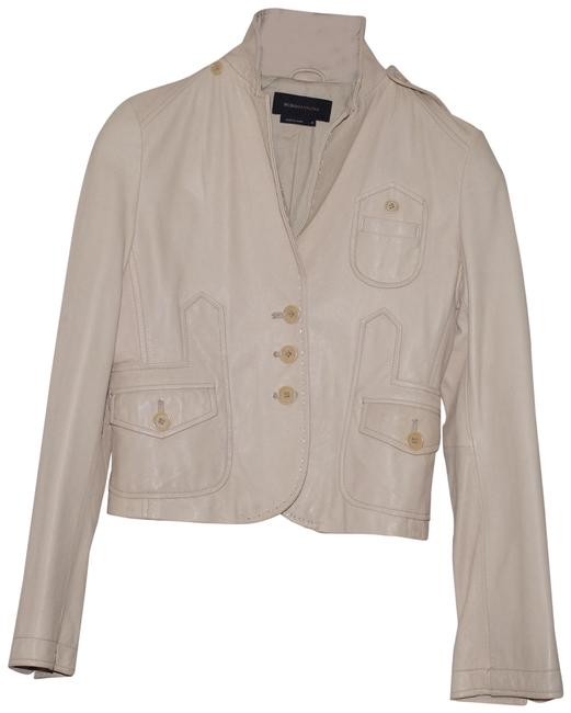 Item - Beige/Peach Cream/ Women Lined Button Blazer Jacket Size 4 (S)