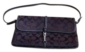 Coach Dark Brown Clutch