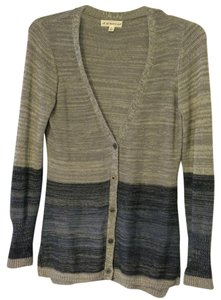 If It Were Me Ombre Hip Length Button Cardigan