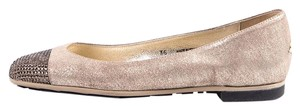 Jimmy Choo Gold Flats