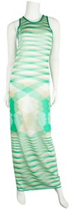 Green & White Maxi Dress by Missoni