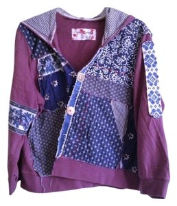 Free People Purple Jacket