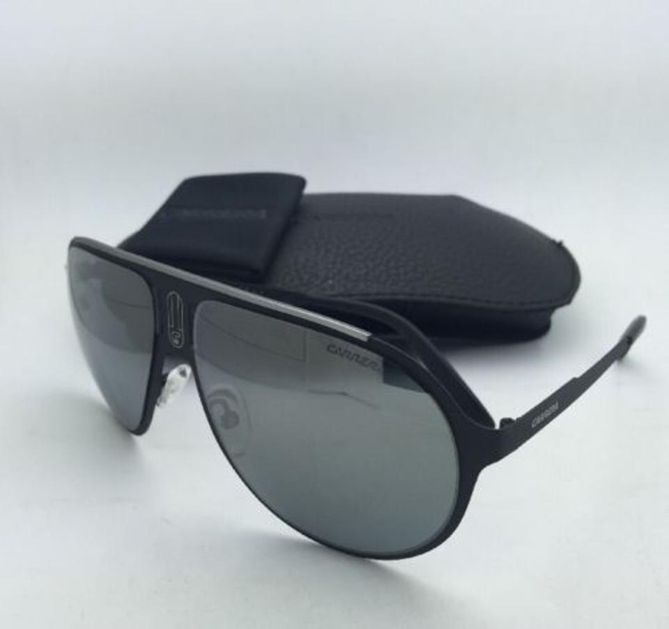 39180530946fa Carrera Sunglasses CARRERA CHAMPION MT 003T4 Matte Black Frame w Mirror  Lenses Image 9. 12345678910