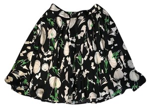 Dior Umbrellas Parisienne Print Mini Skirt Multi Color