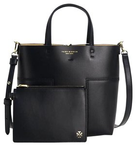 Tory Burch Satchel in Black Tan