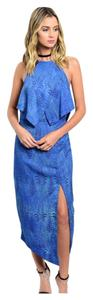 Blue Maxi Dress by